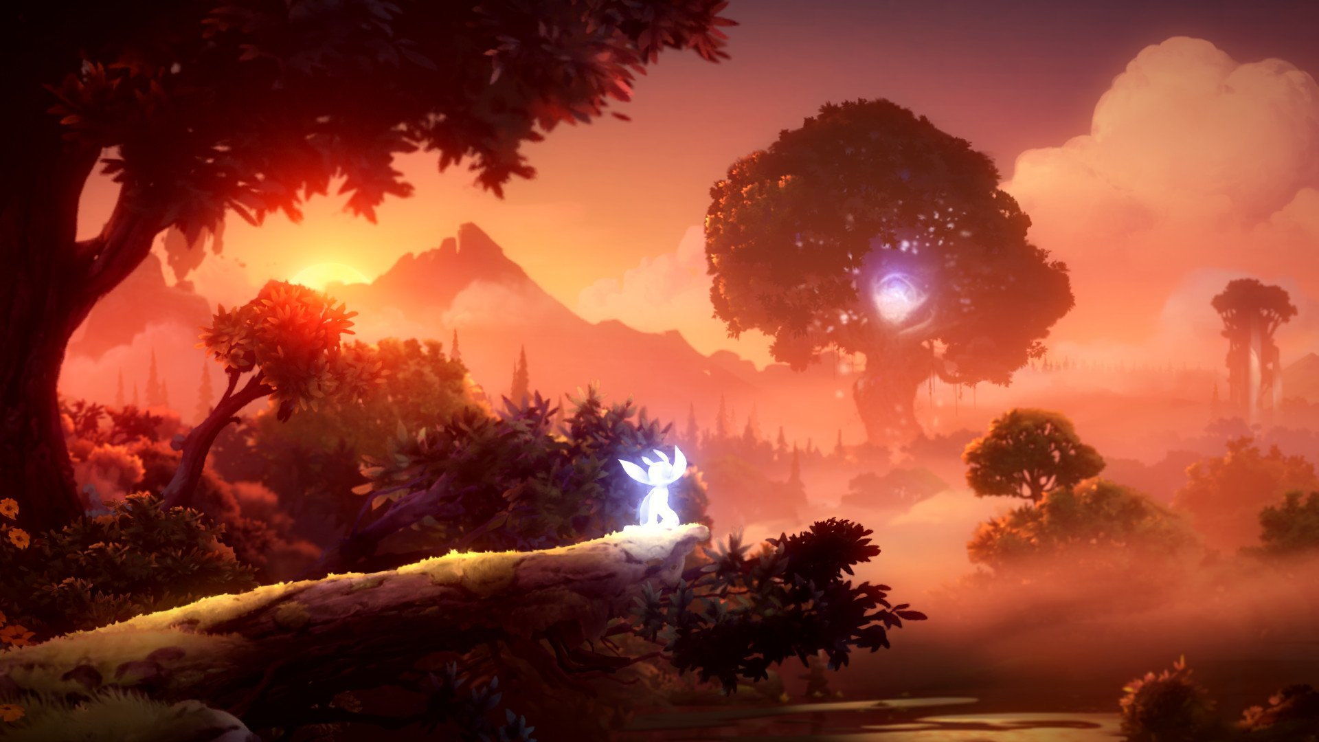 Ori and the Will of the Wisps is somehow looking even more gorgeous than the first Ori game.