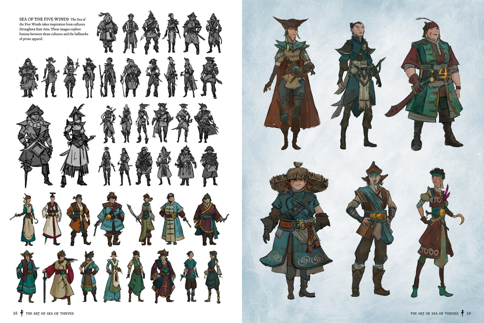 Sea of Thieves East Asia Concept Art