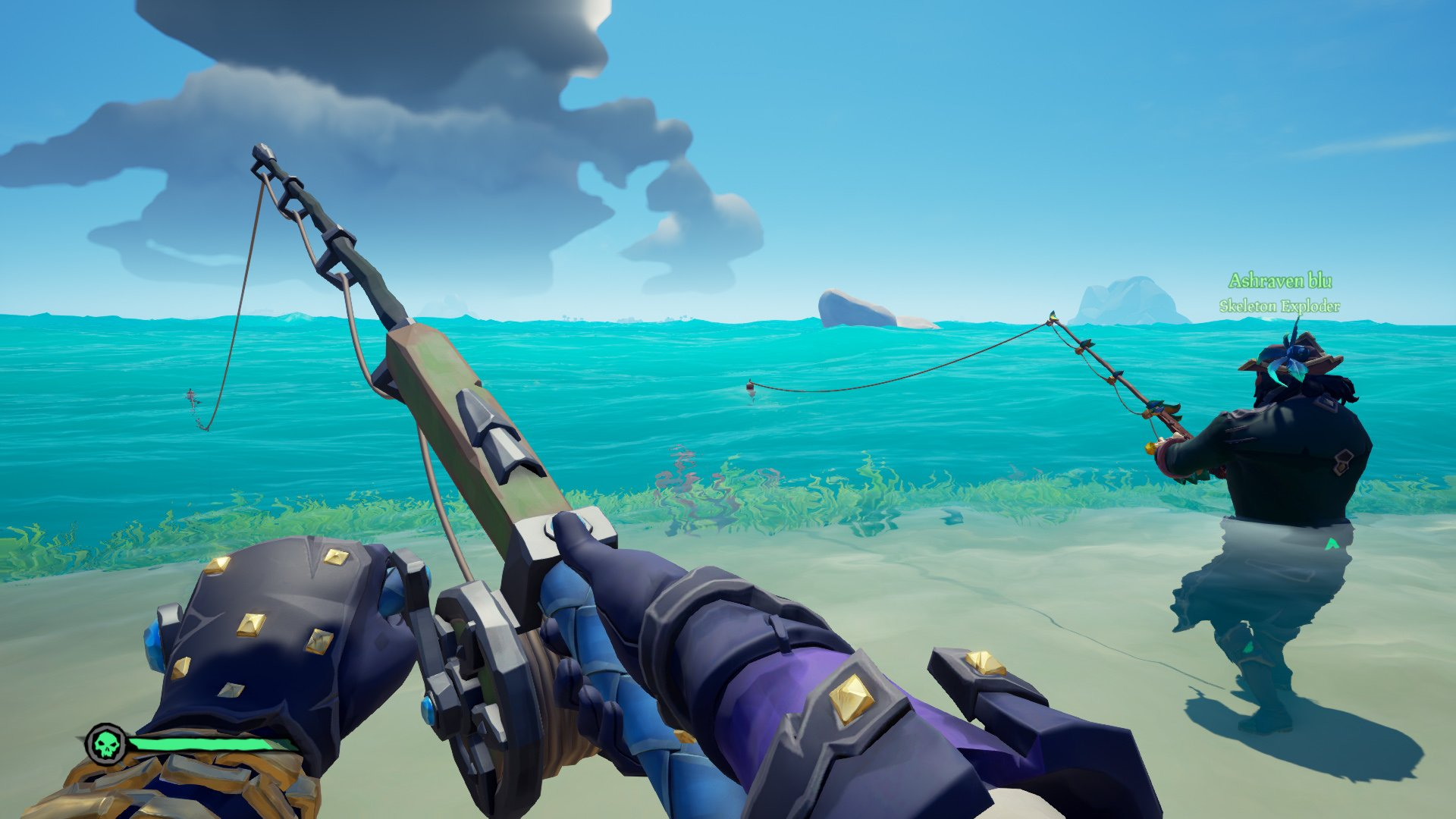 sea of thieves fishing event