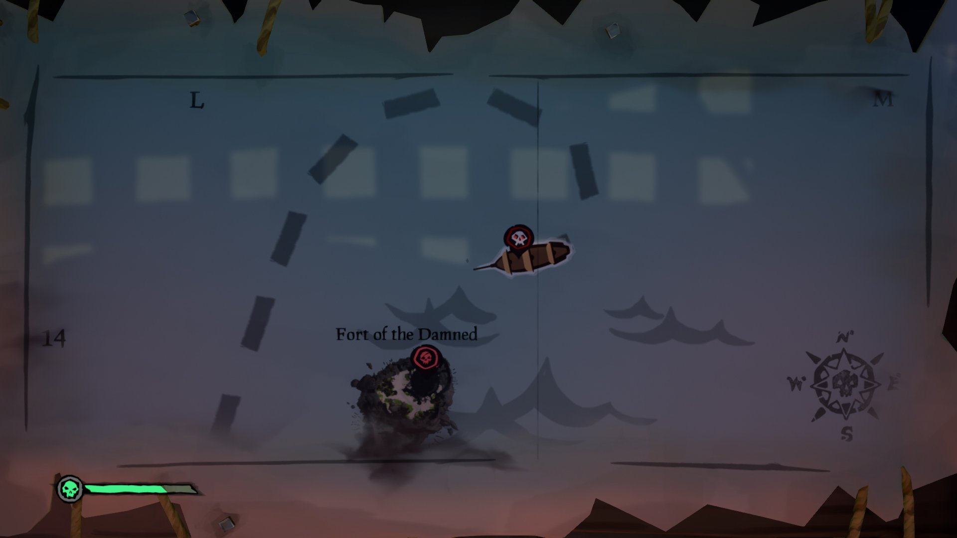sea of thieves white skull meaning