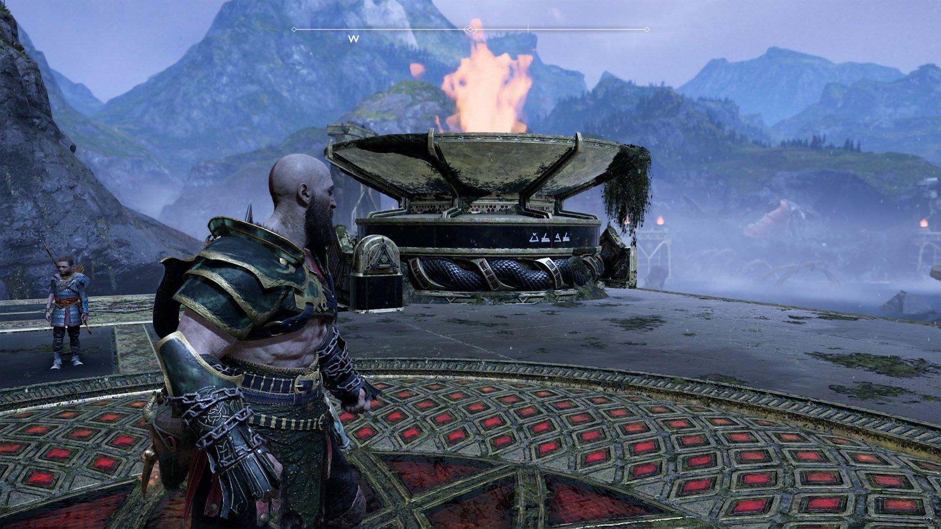 god of war secret pommel code