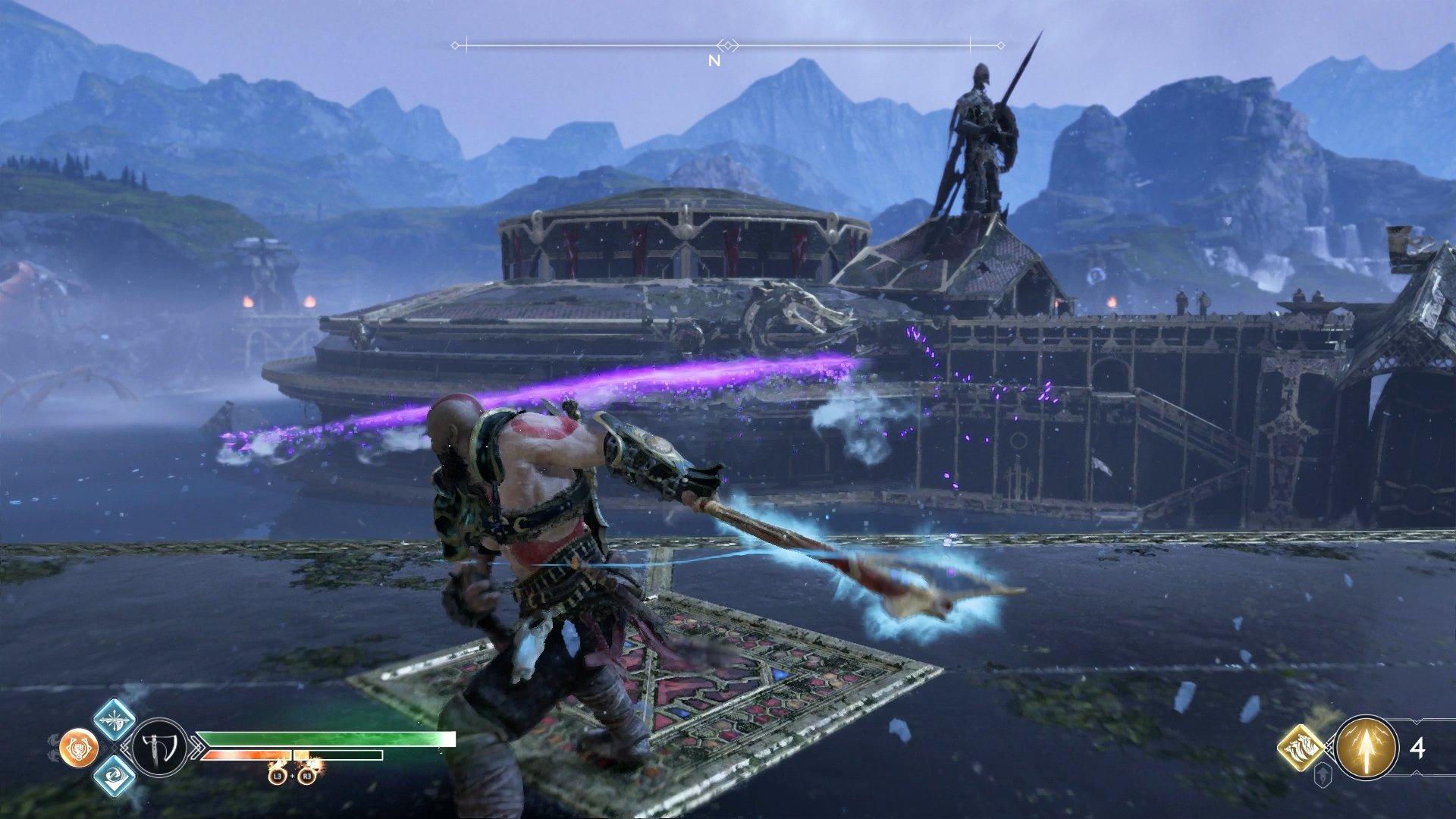 god of war secret pommel ability