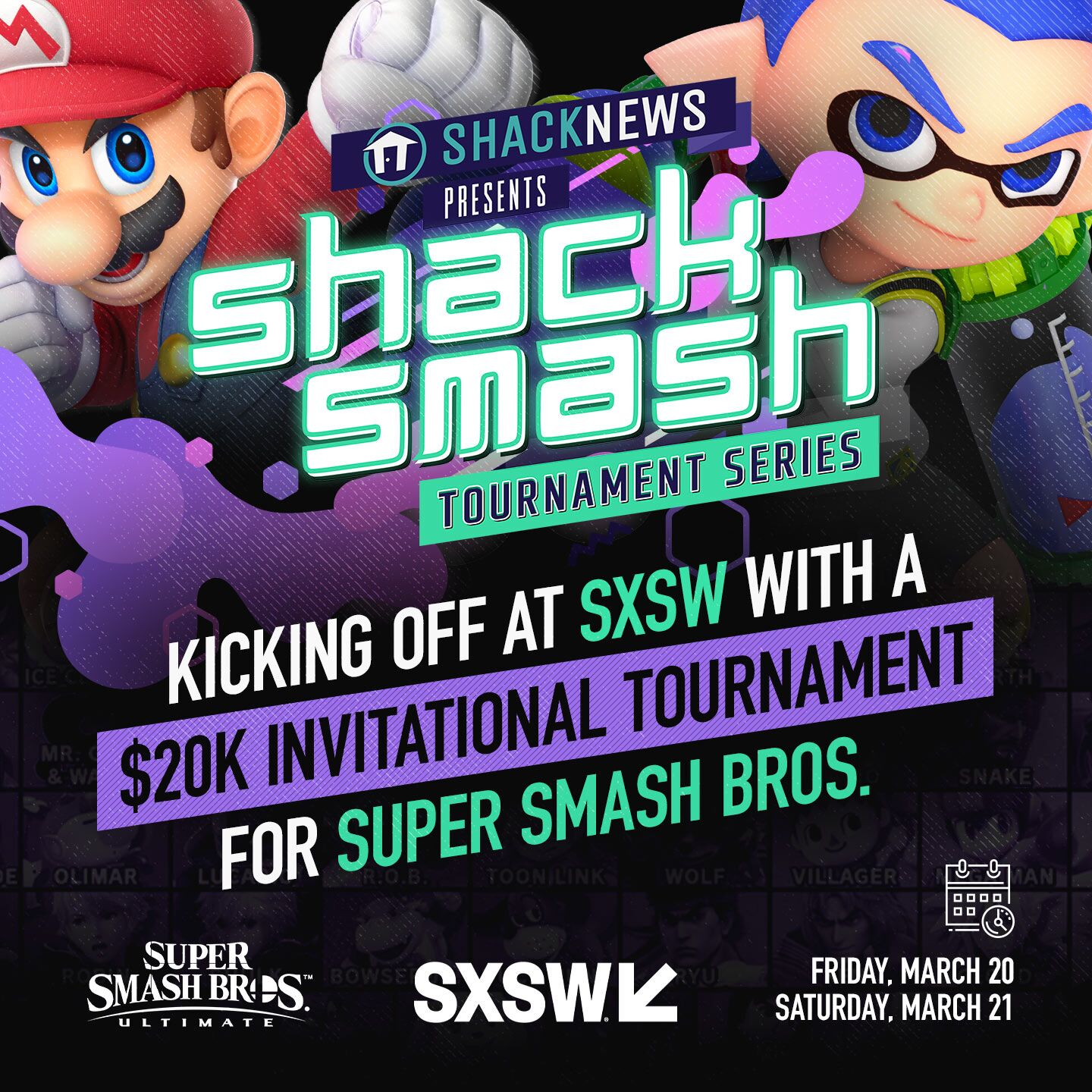 Shack Smash SXSW 2020 Ultimate Invitational announced!