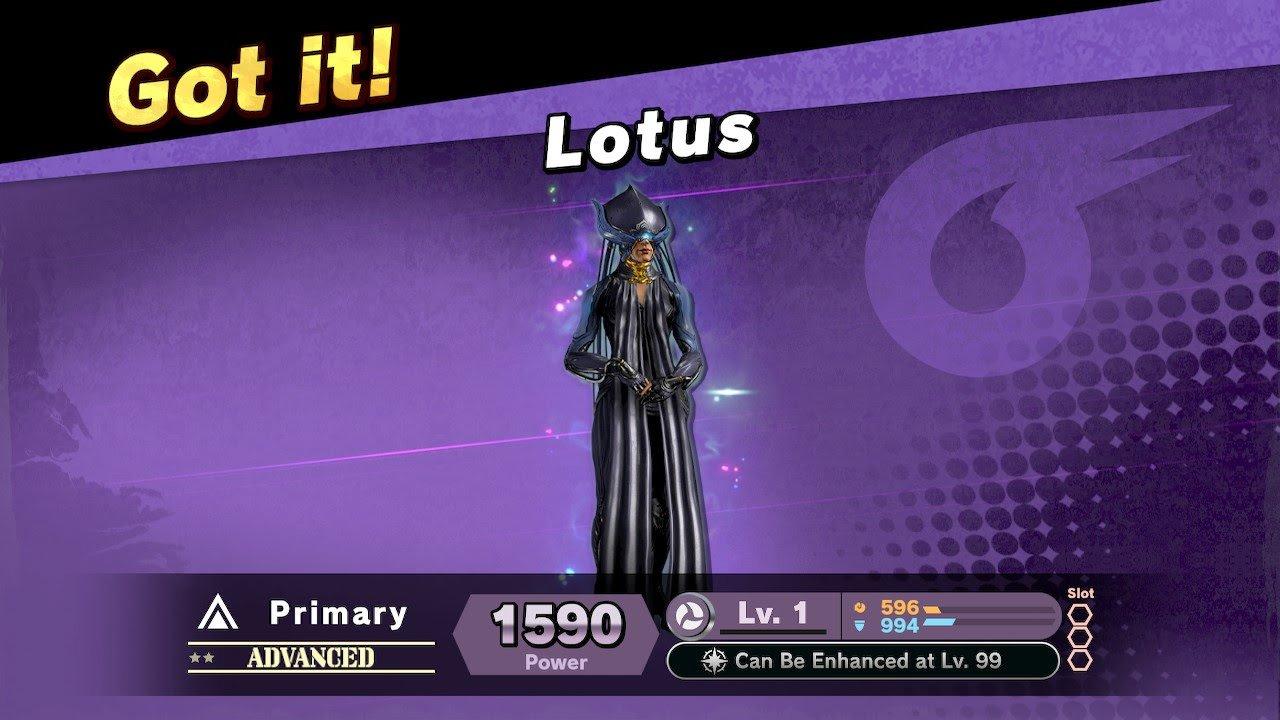 Lotus joins Smash Ultimate as a Spirit