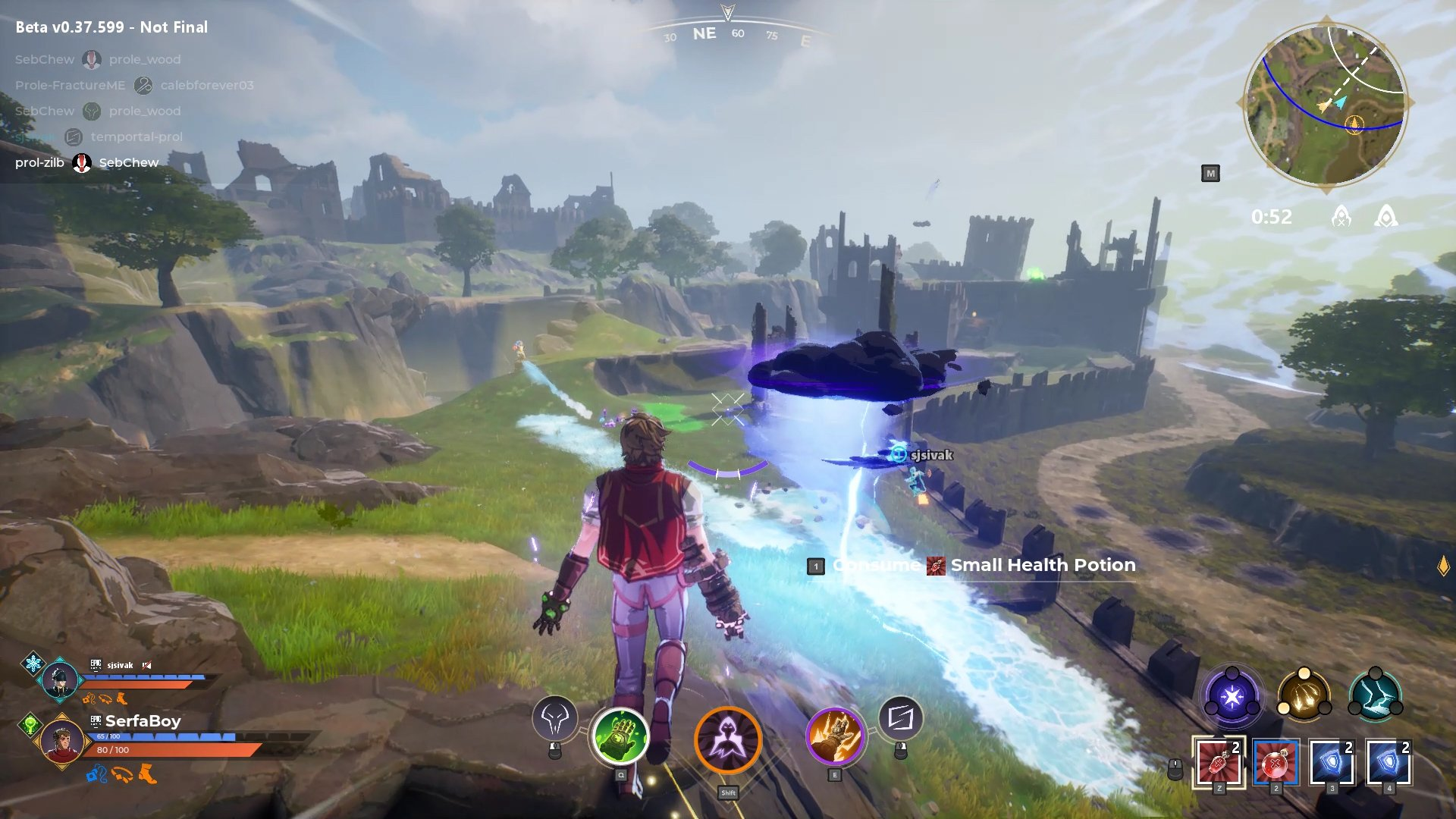 spellbreak preview epic games store