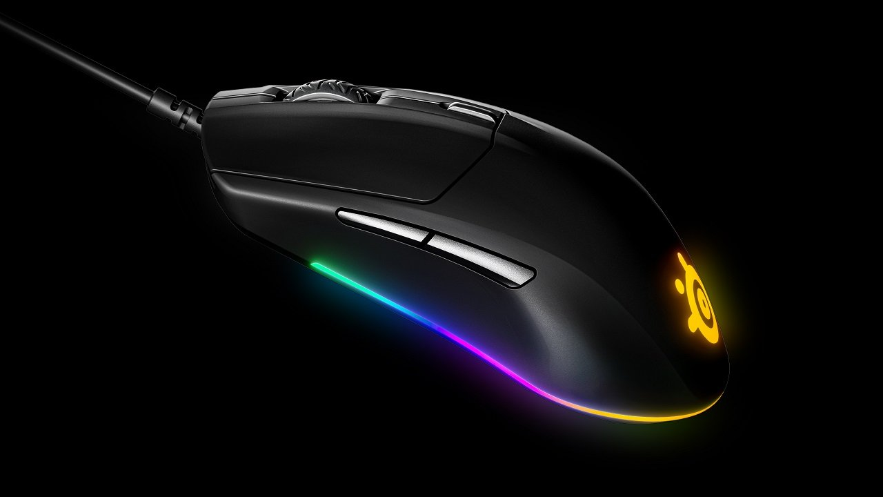 The RGB lighting on the SteelSeries Rival 3 lights up a room like few other mice out there.