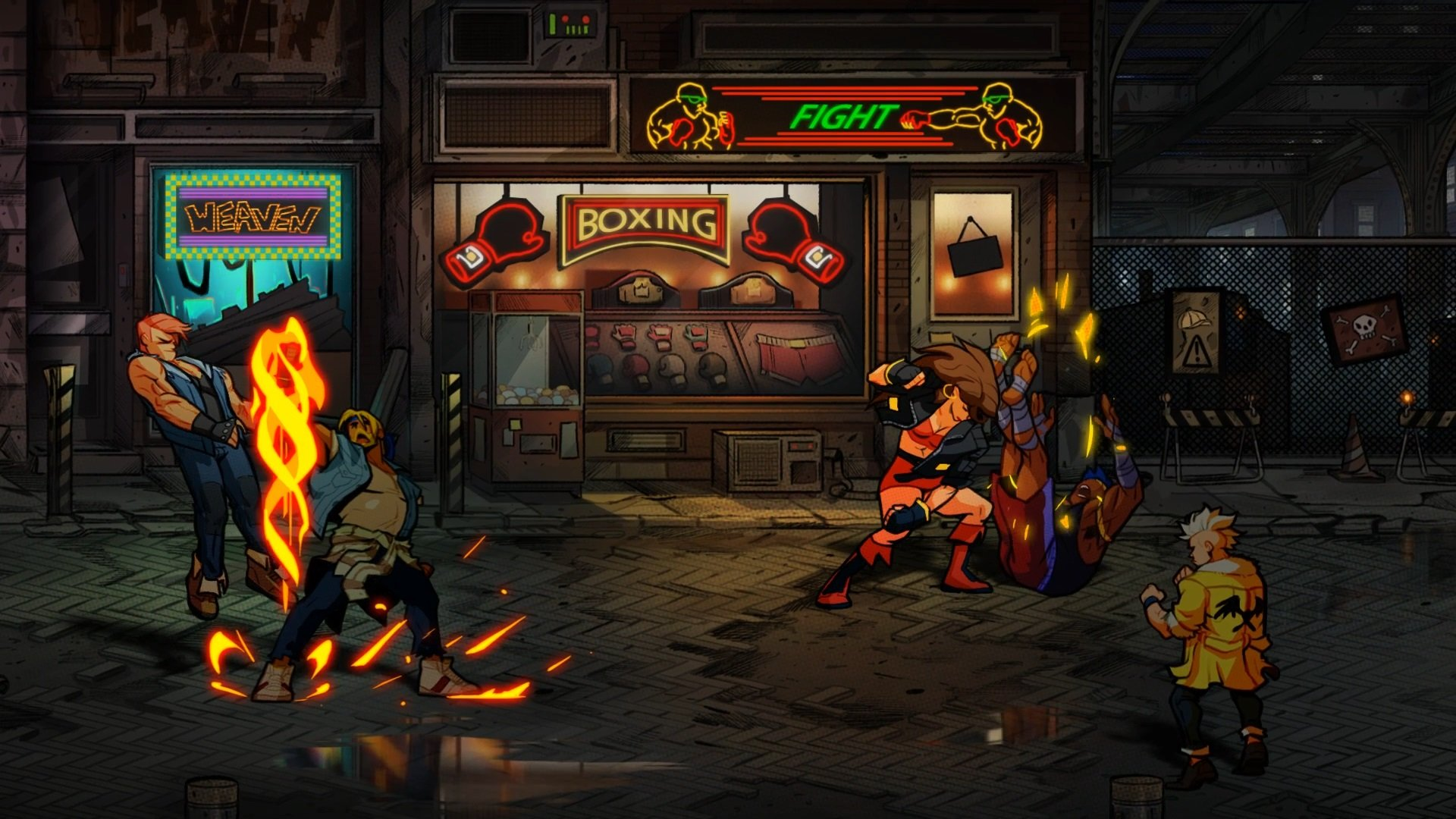 Streets of Rage 4 looks amazing, with great character detail.