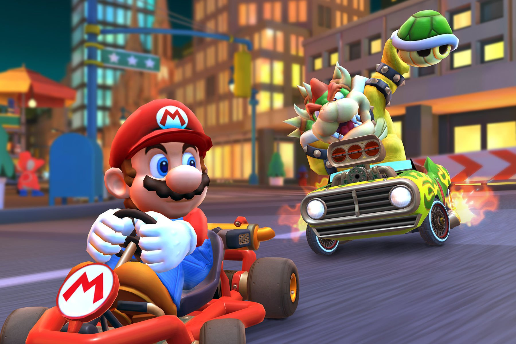 the dice awards 2020 racing game of the year mario kart tour