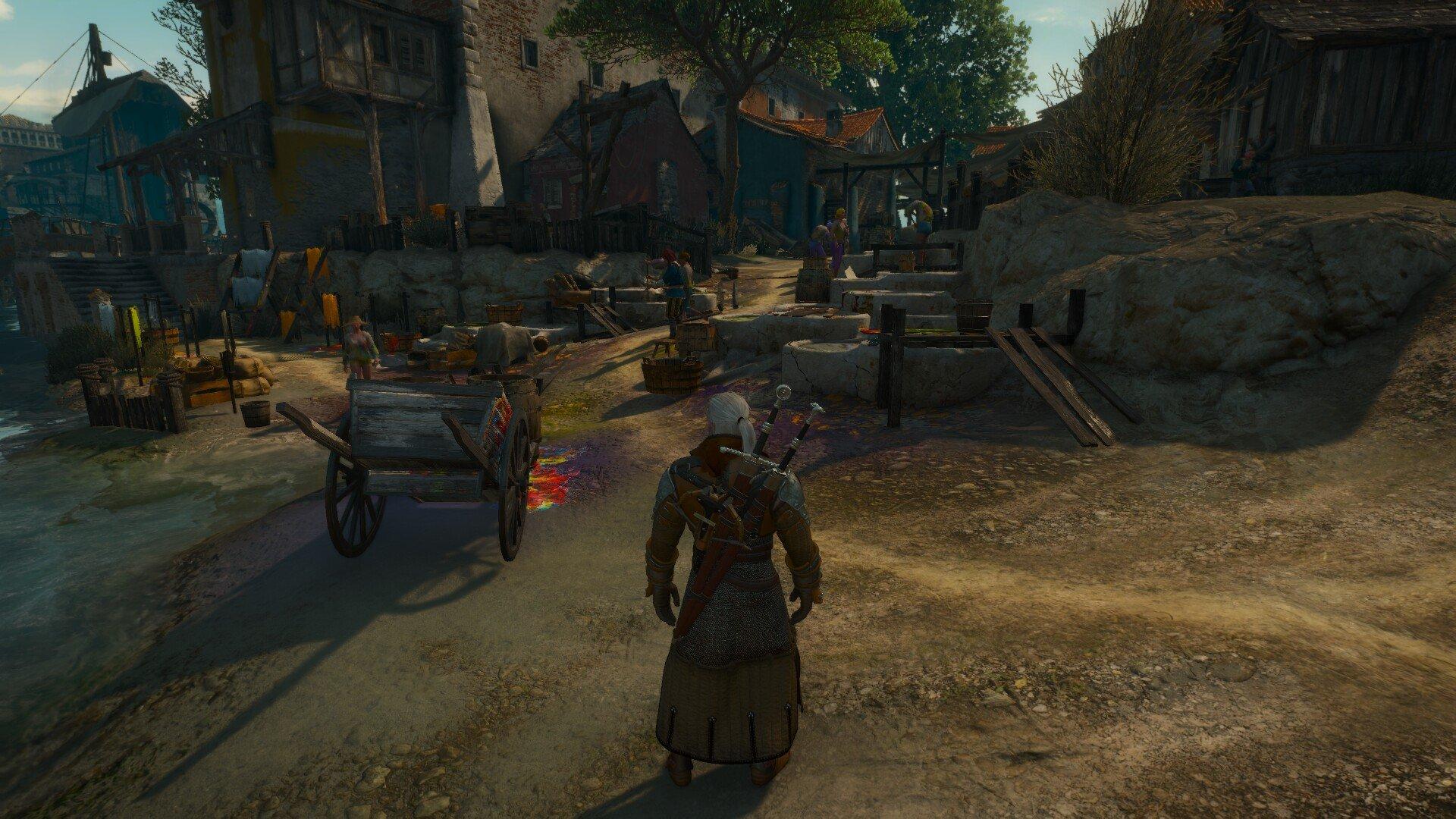 Armor Dye Merchant location - Witcher 3