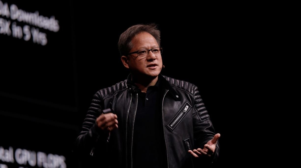NVIDIA CEO Jensen Huang is probably hiding the GeForce RTX 3080 under that leather jacket.