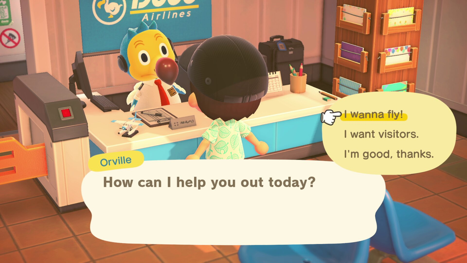 co-op options - Animal Crossing: New horizons
