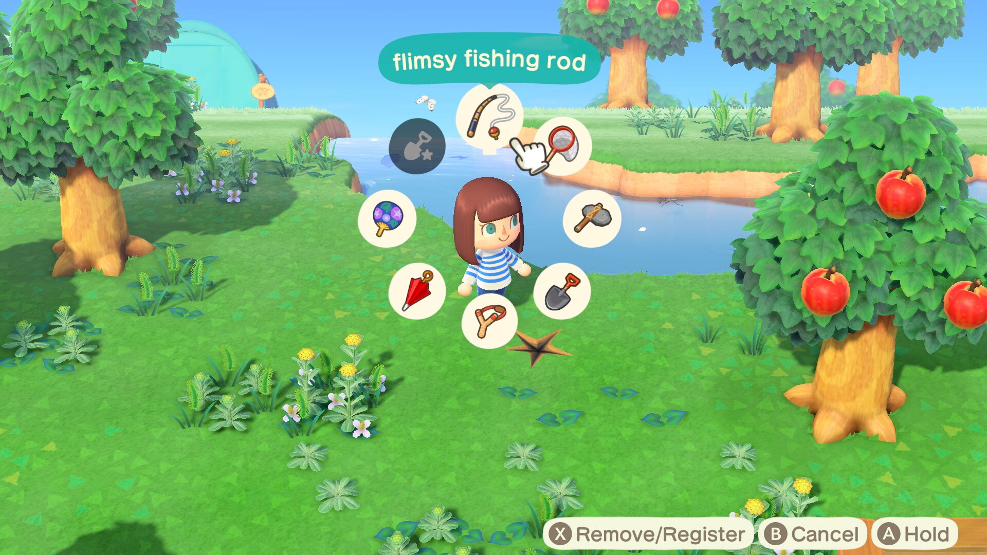 The Tool Ring can be unlocked after a few days in Animal Crossing: New Horizons