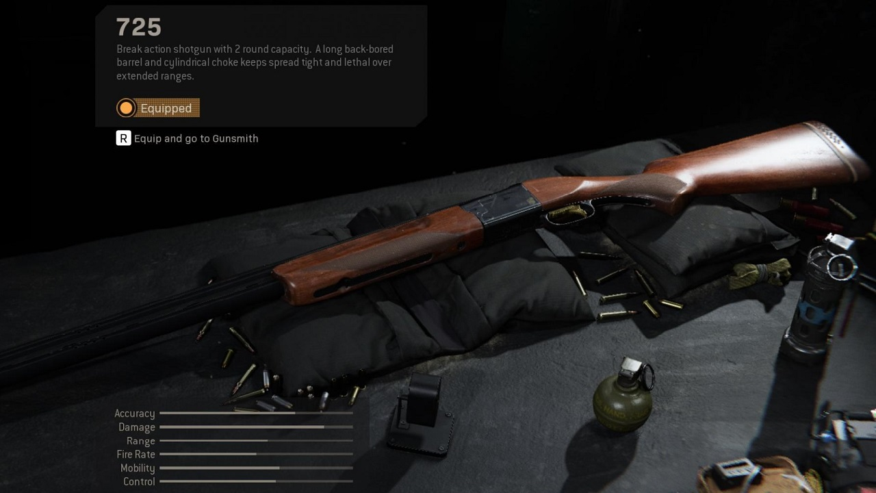 The 725 shotgun has been a beast for anyone who can tame it. It will be interesting to see what effect it has on the Call of Duty: Warzone battlefield.