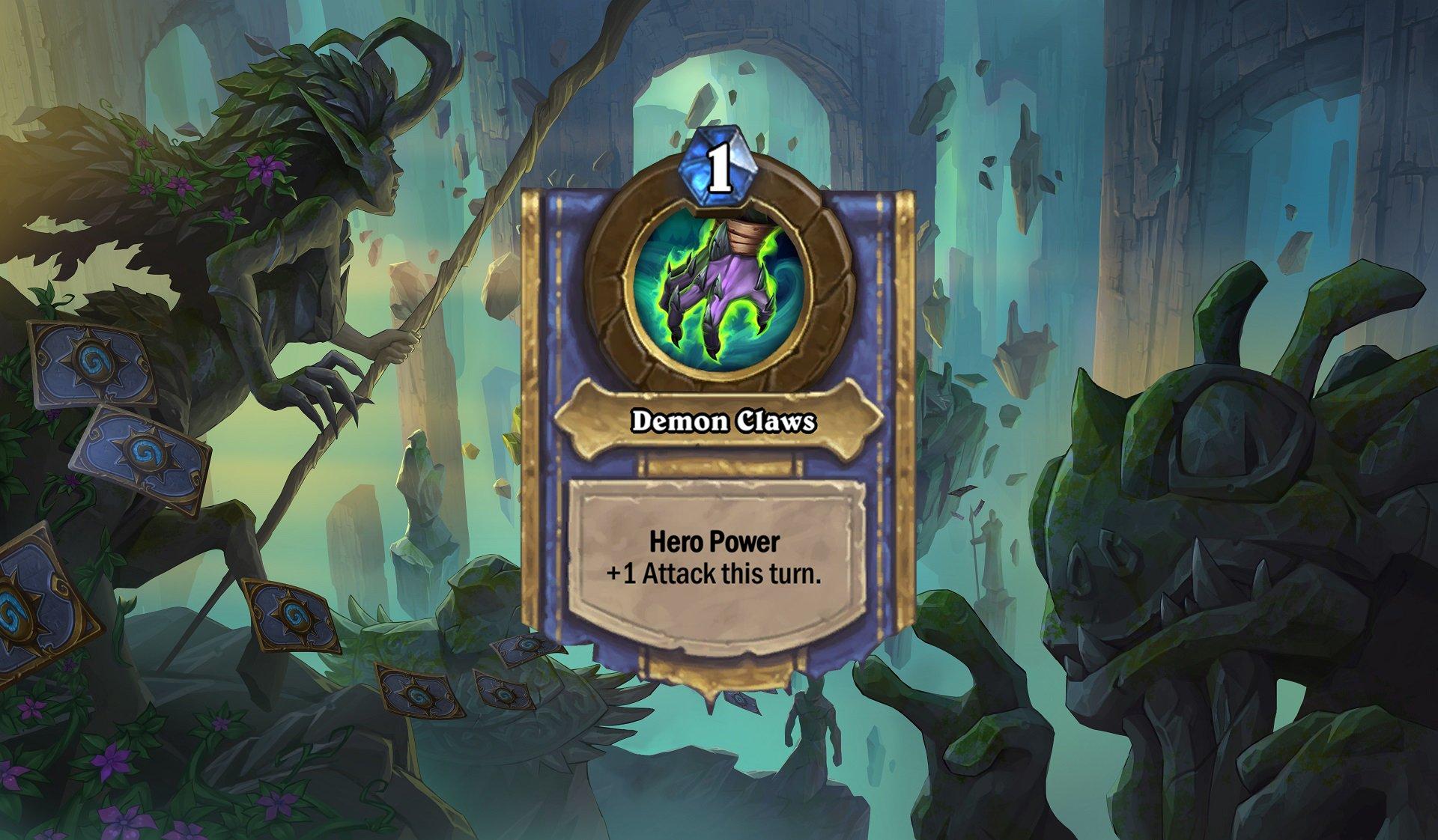 Hearthstone - Demon Hunter Hero Power