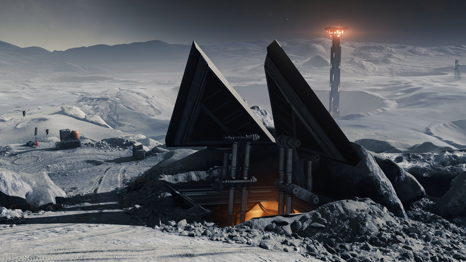 Destiny 2 Season of the Worthy moon bunker