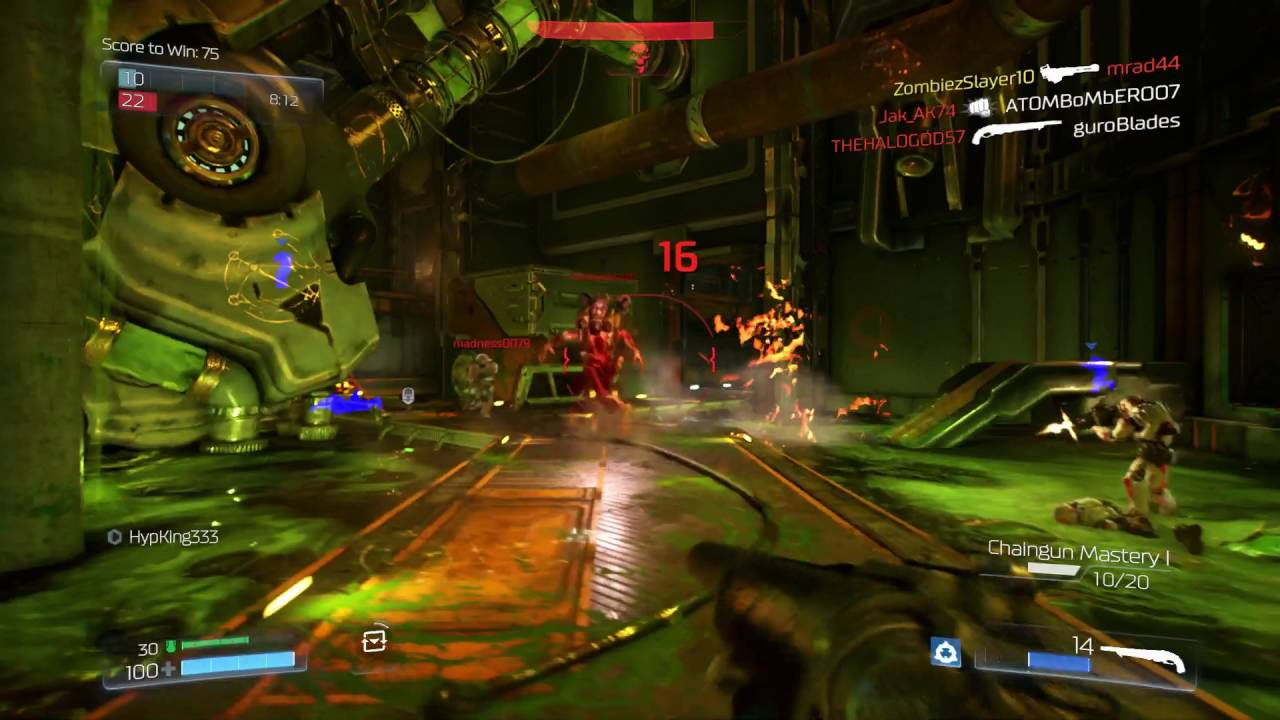 According to Hines, Doom 2016's multiplayer mode received the most criticism internally as well as from fans.