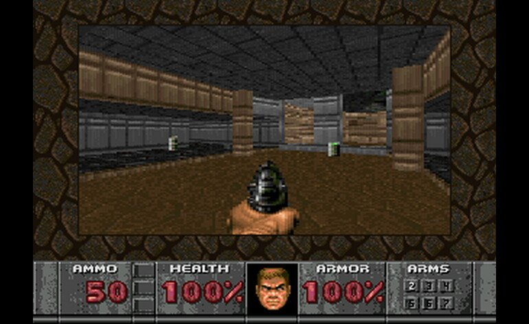 Doom on Sega 32X.