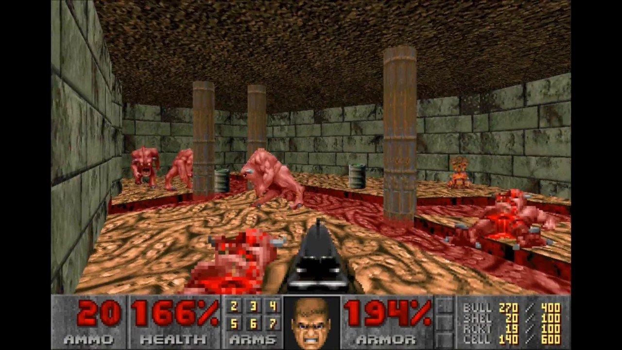 Doom in Doom 3: BFG Edition (PC).