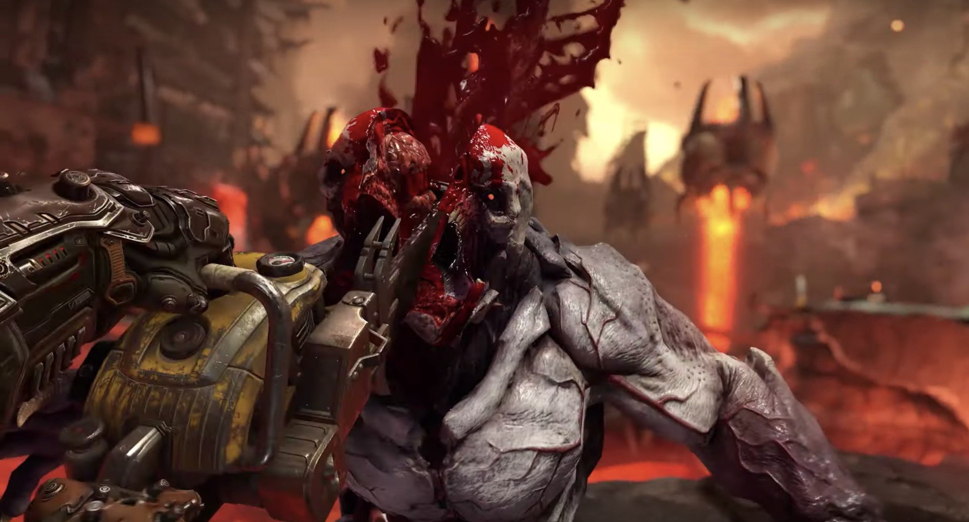 Will Doom Eternal have co-op or splitscreen?