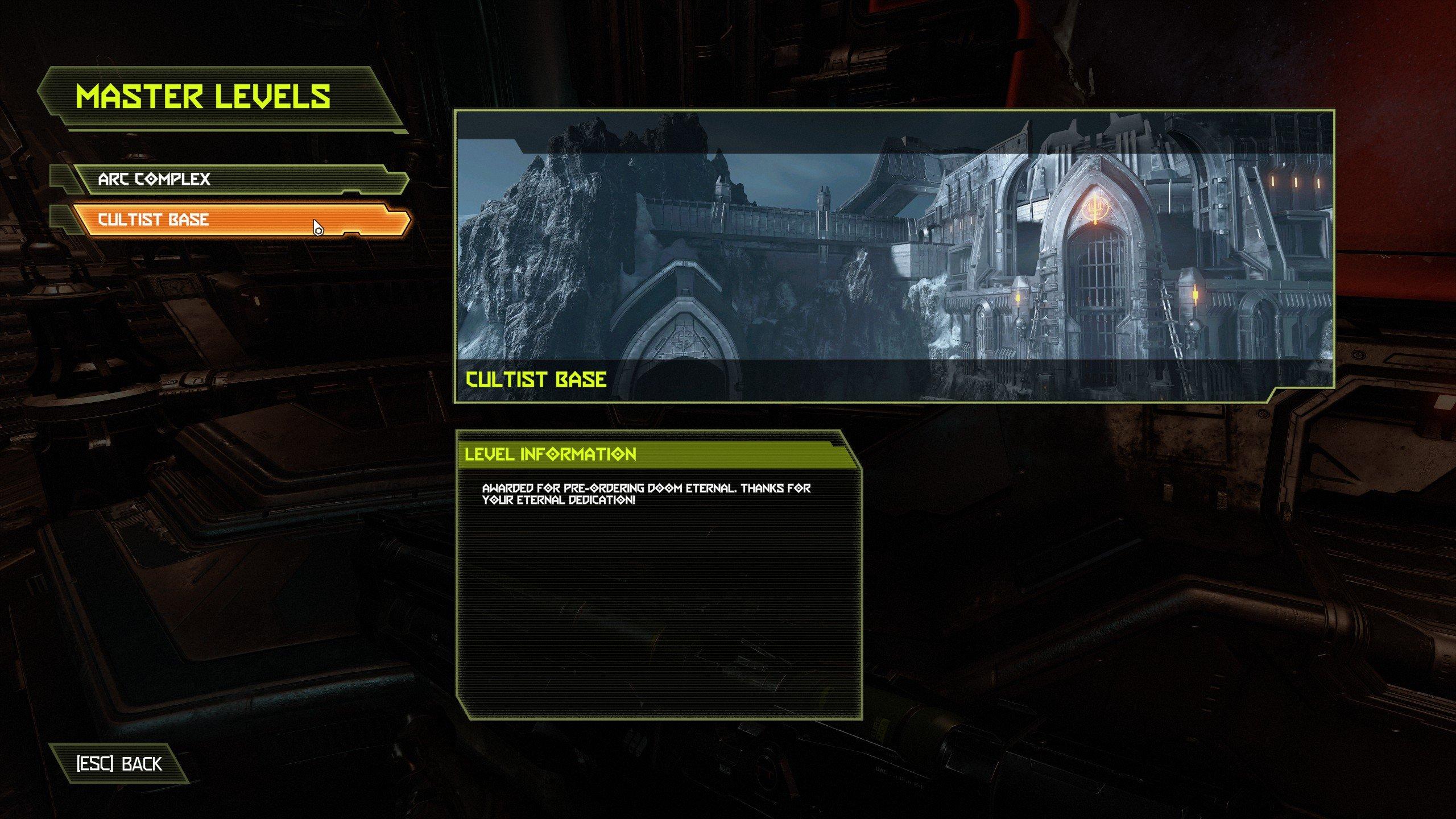 How to unlock new Master Levels - Doom Eternal