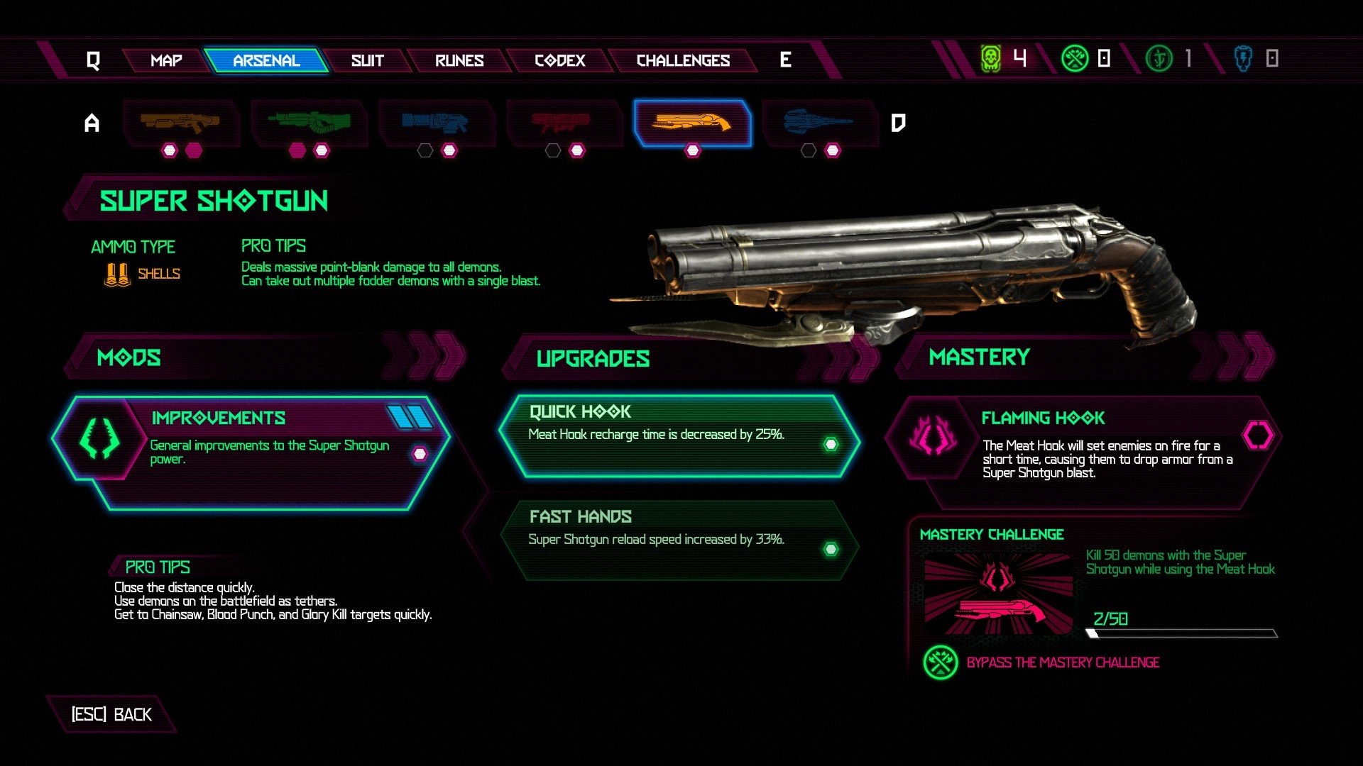 Selecting weapon mods and upgrades intelligently is critical to success in combat.