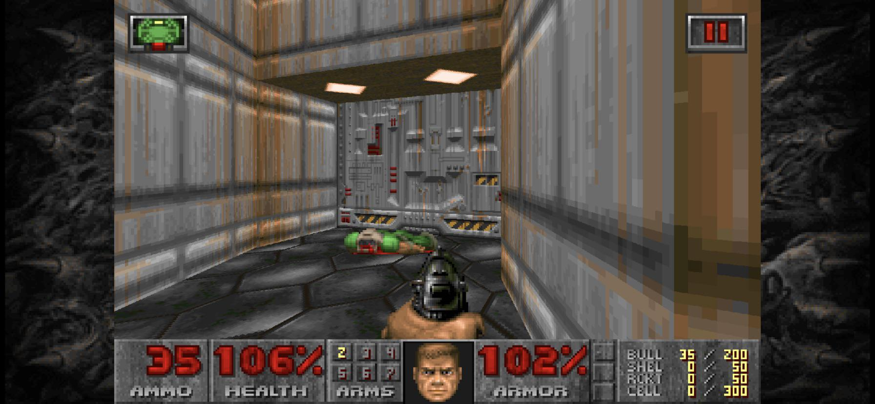 Doom on Apple iOS.