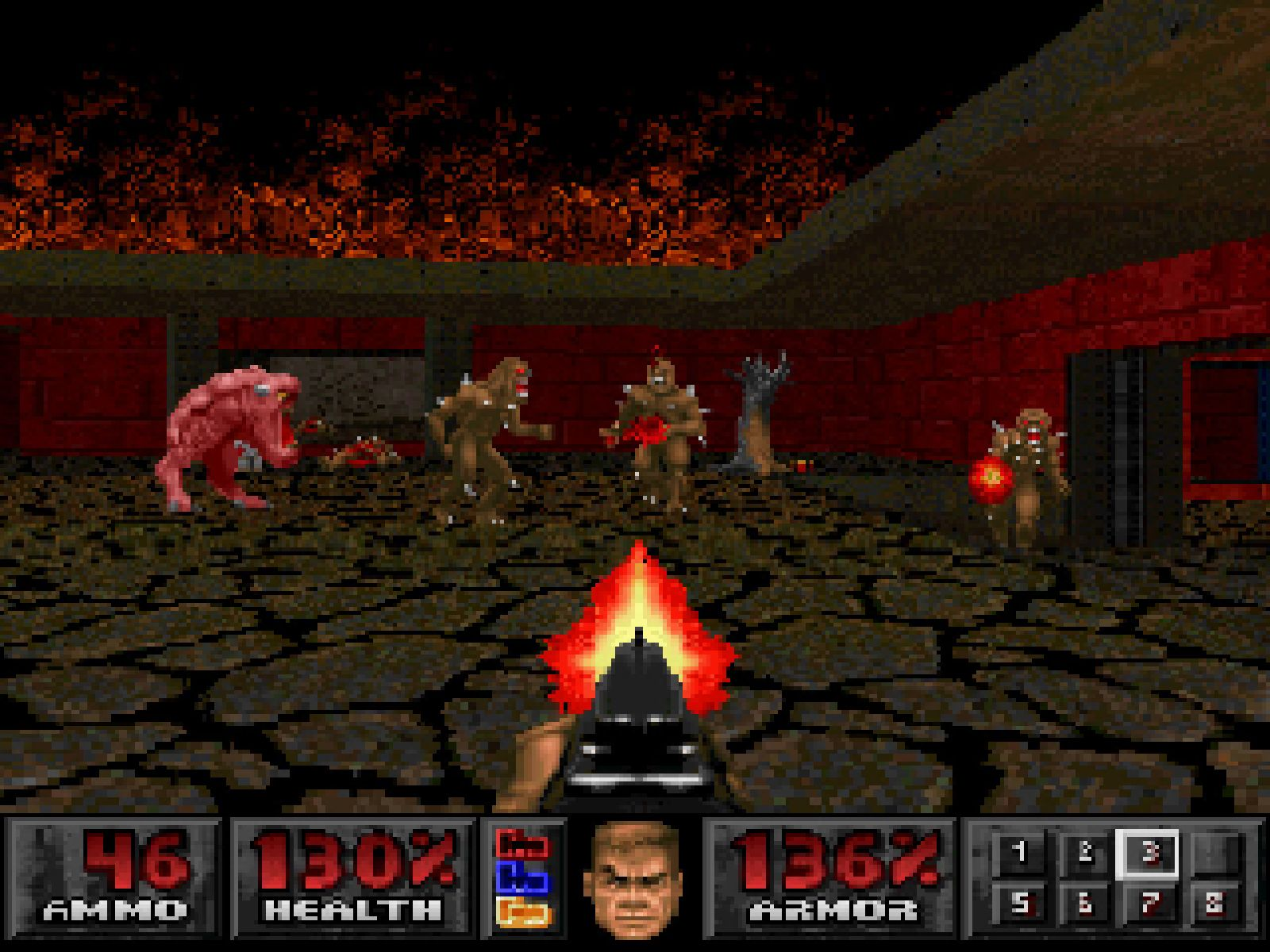 Doom on Sony PlayStation.