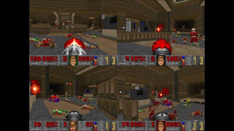 Doom on Xbox 360 Xbox Live Arcade.