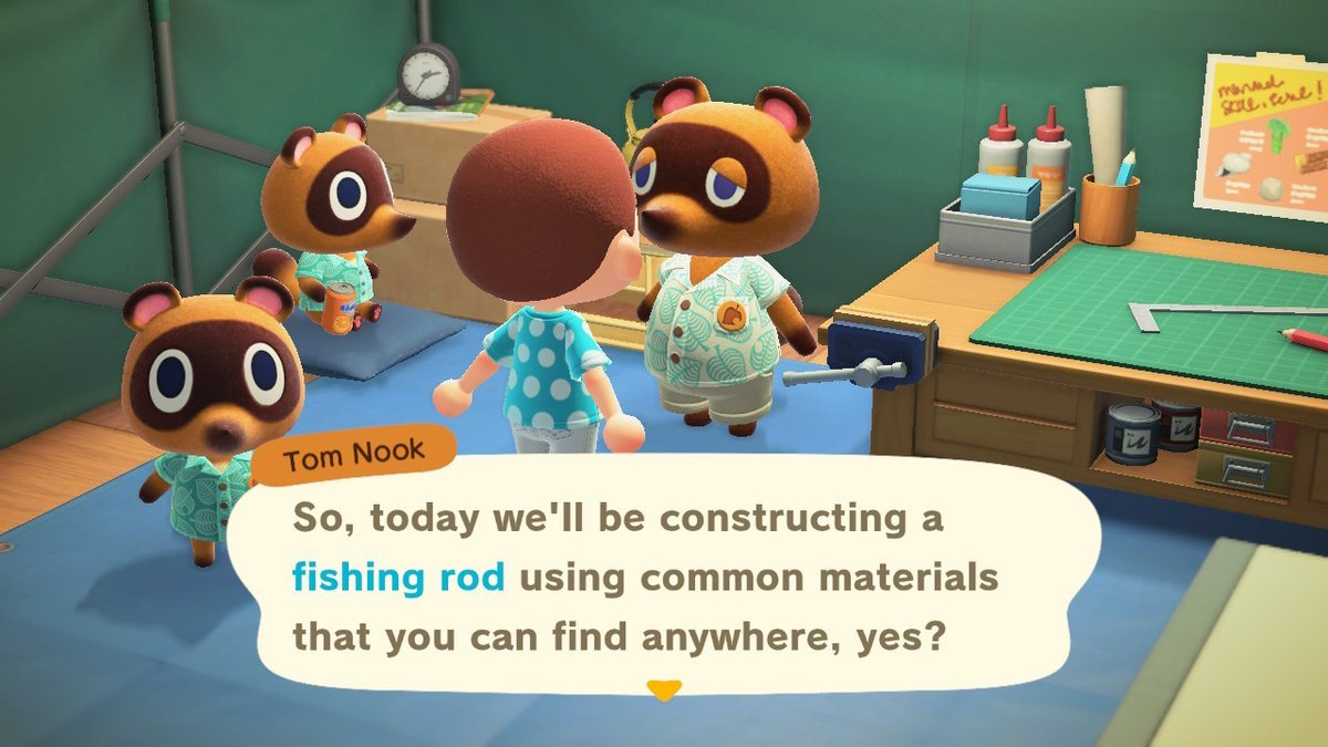 Get Fishing Rod Animal Crossing New Horizons