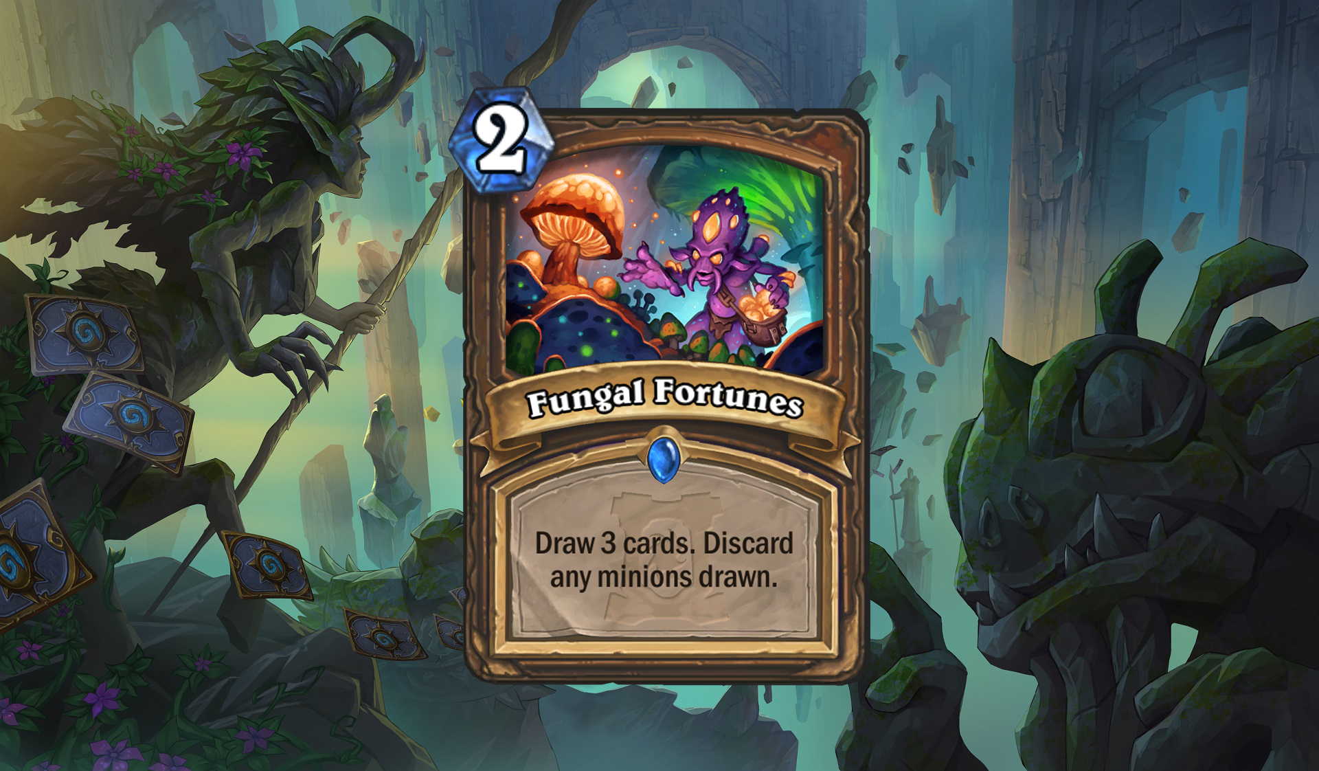 Hearthstone - Fungal Fortunes
