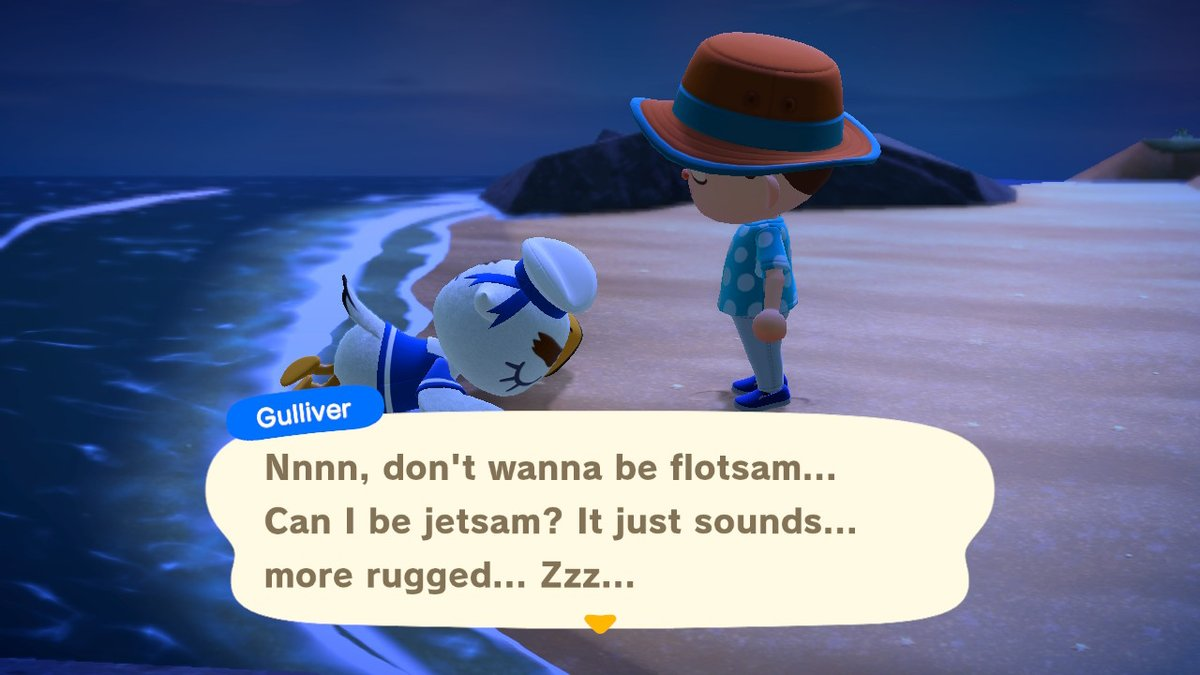 Gulliver Animal Crossing New Horizons