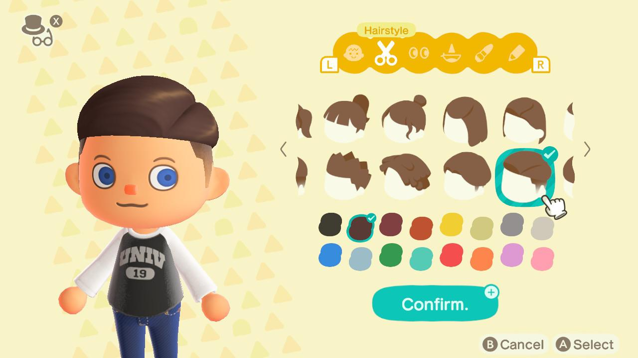 How to change your look - animal crossing: new horizons