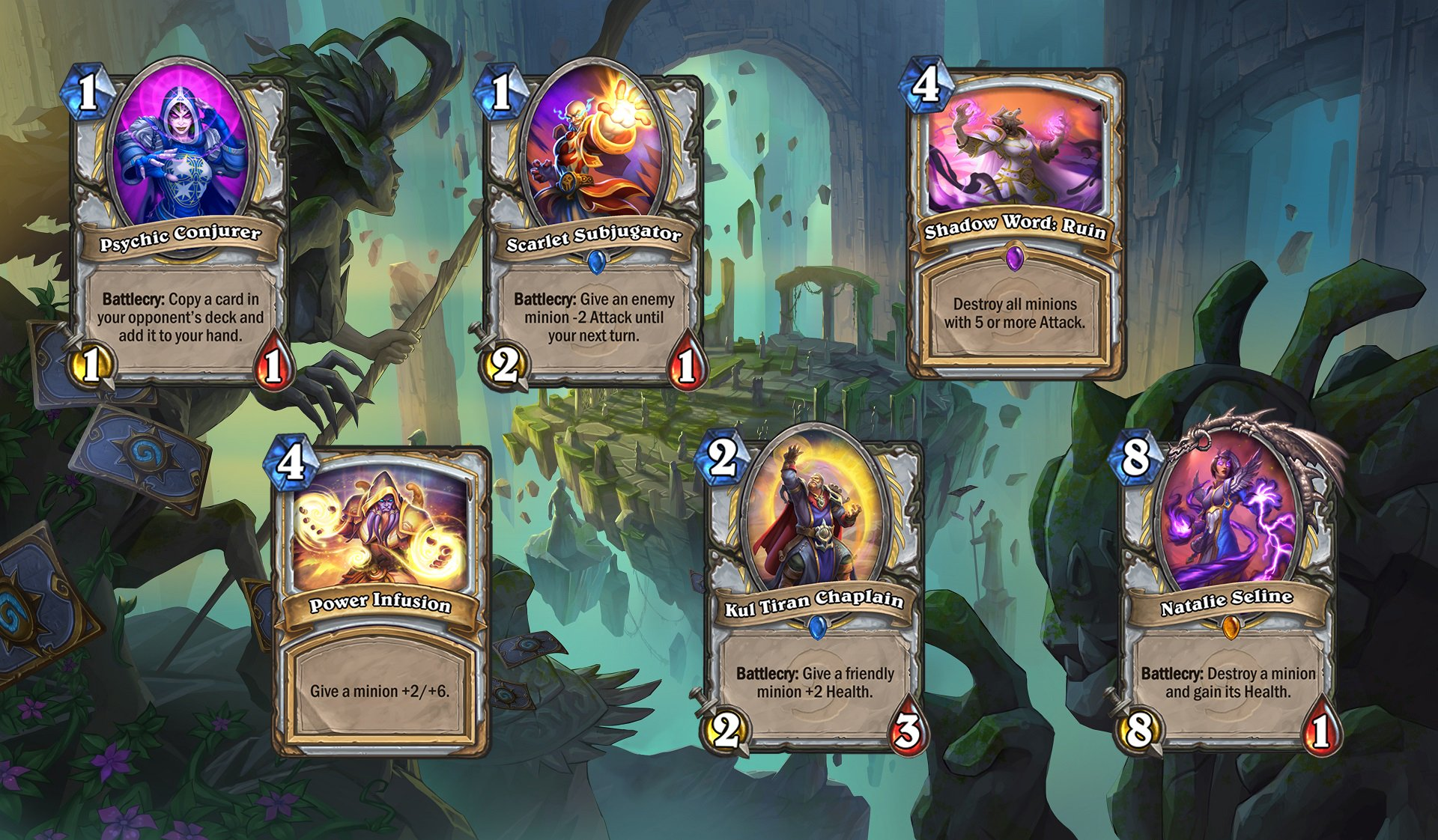 Hearthstone - Priest Rework