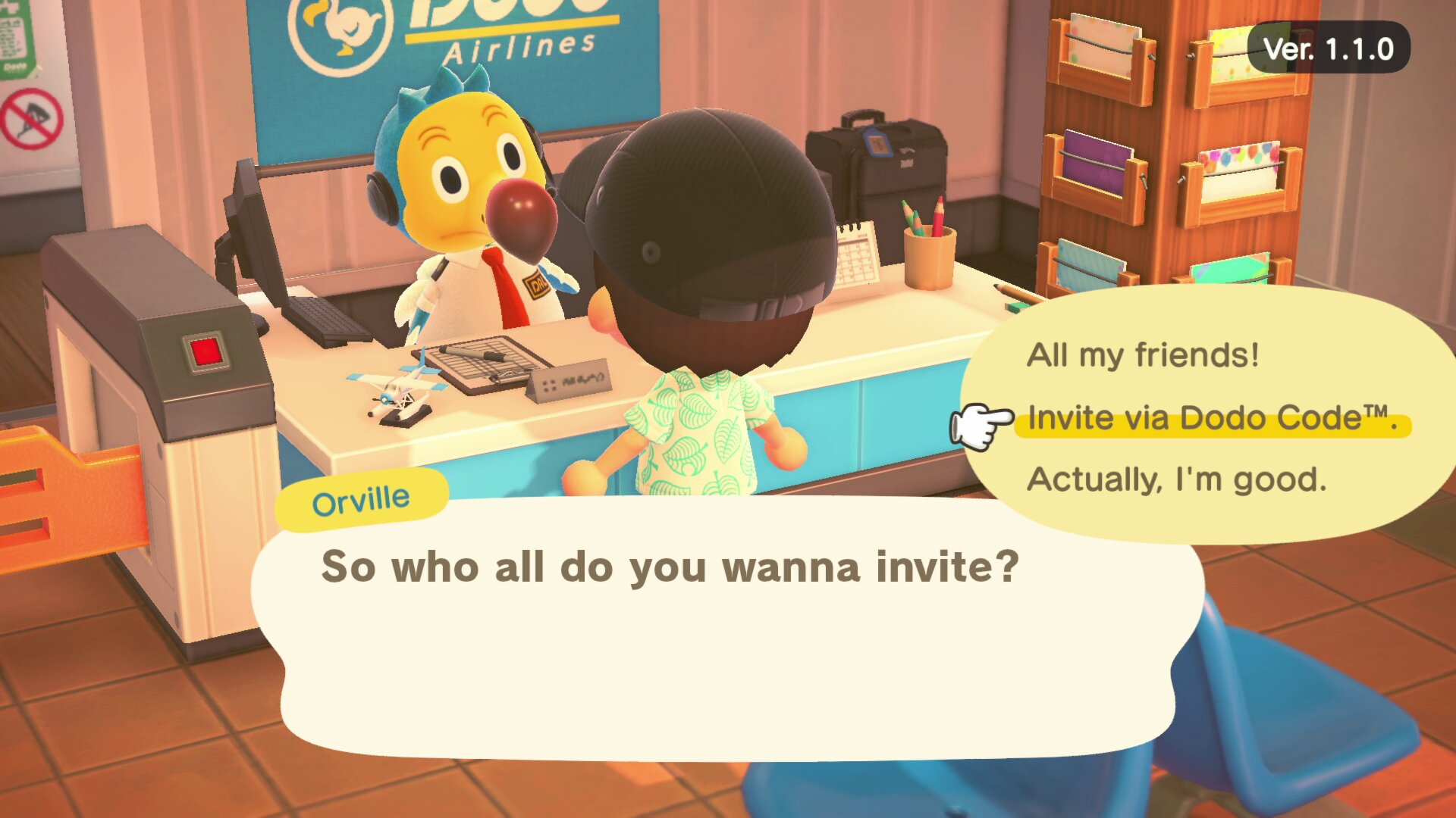 How to invite friends to your island - Animal Crossing: New horizons