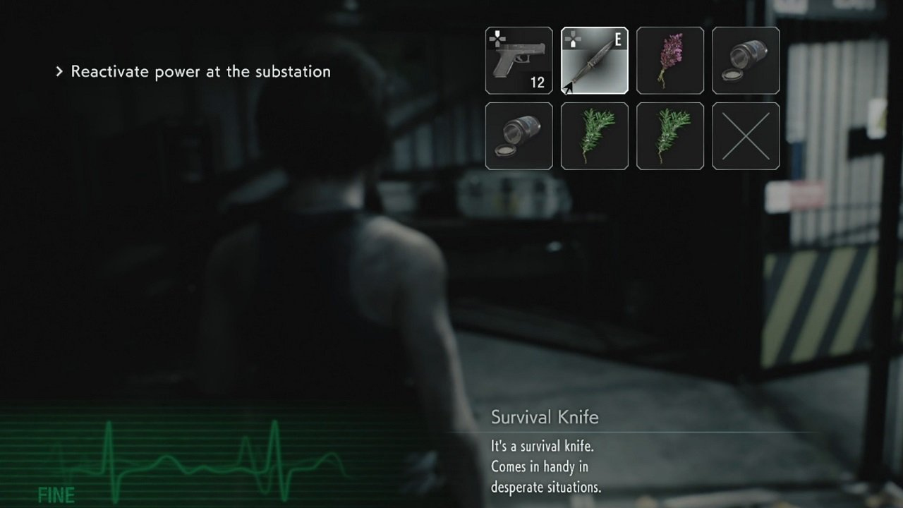 The removal of durability from the Resident Evil 3 knife means it won't be a limited-use tool, and so knife-only runs are far more possible than in the RE2 remake.