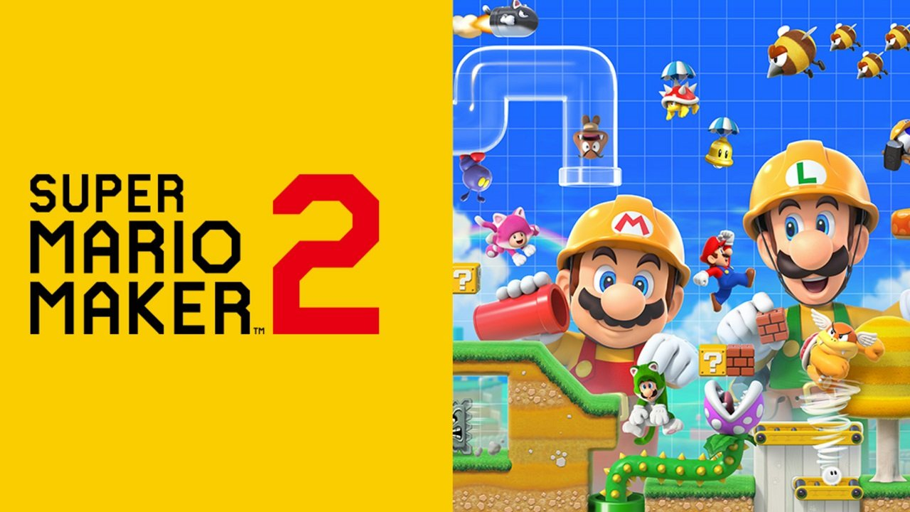 Super Mario Maker 2 is easily a standout among the deals on Super Mario games on this MAR10 Day.