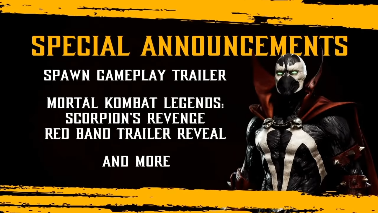 MK11 Spawn Reveal