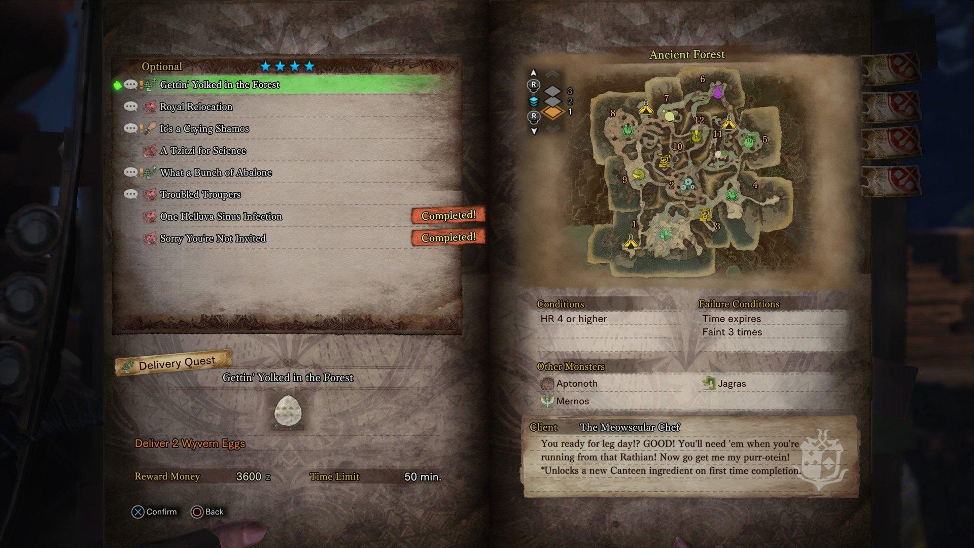 Monster Hunter World - Gettin' Yolked in the Forest