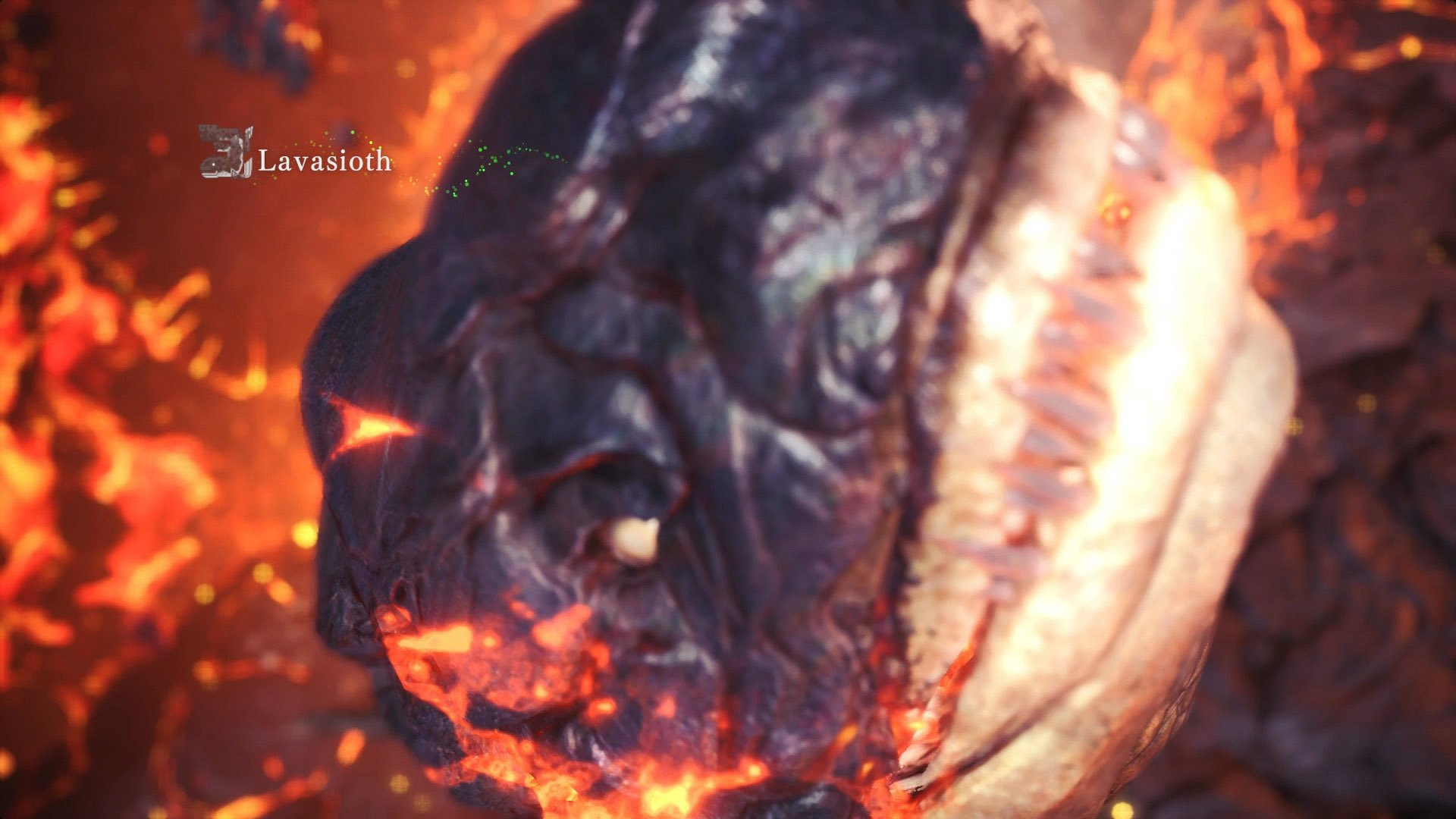 monster hunter world lavasioth sight all monsters
