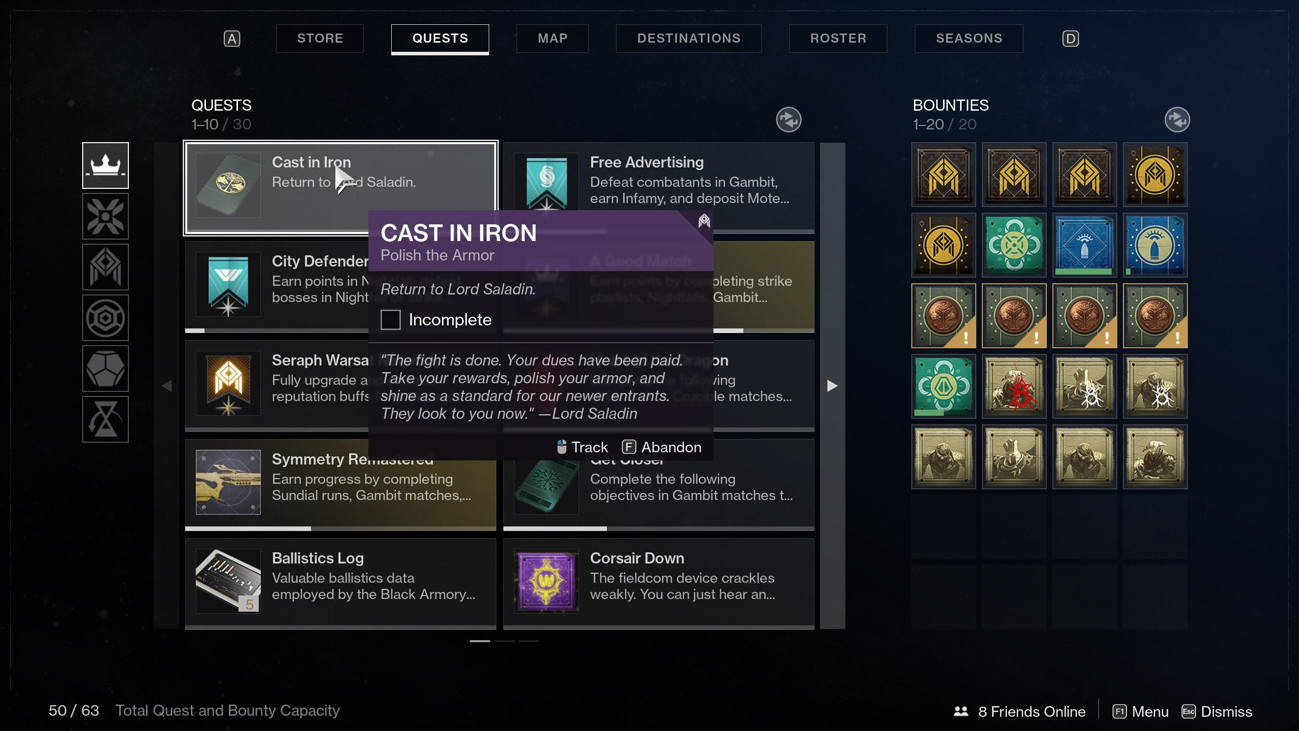 destiny 2 polish the armor
