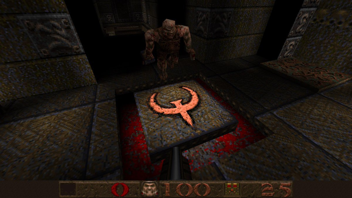 Quake's ultra-fast motion turns Hines' stomach more than its bloody decor.