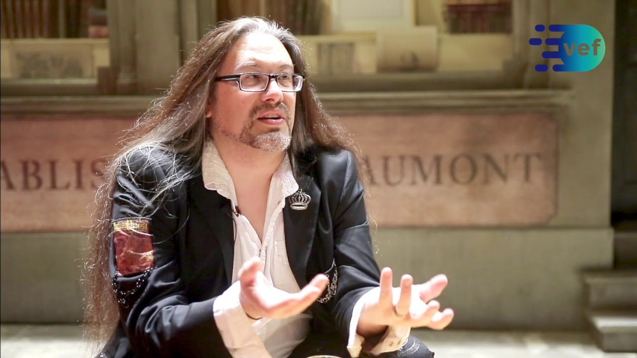 John Romero at the 2018 Videogame Executive Forum.