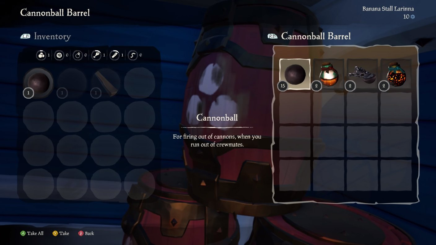 sea of thieves blunderbomb