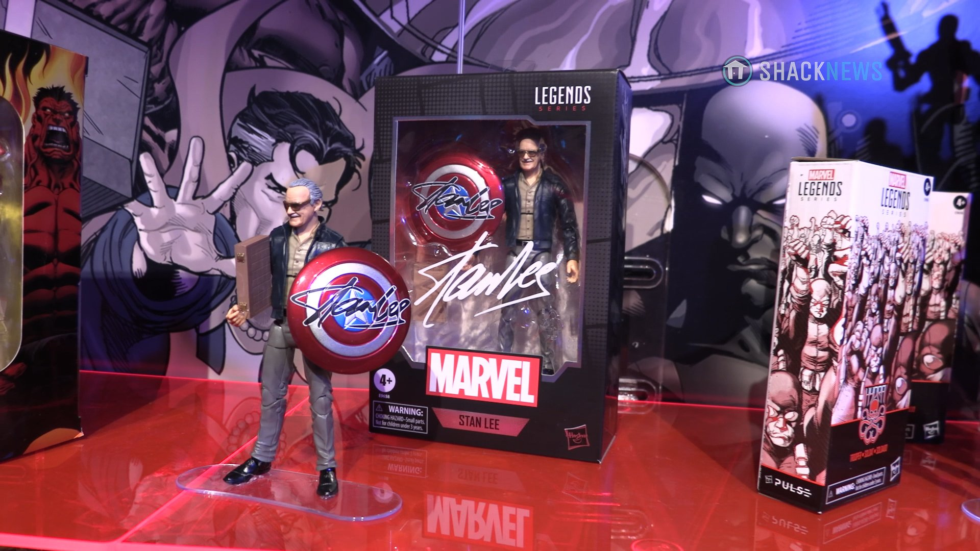 Toy Fair 2020 Hasbro Marvel Stan Lee