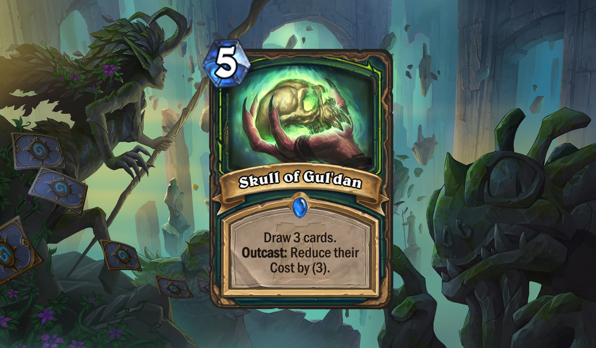 Hearthstone - Skull of Gul'dan