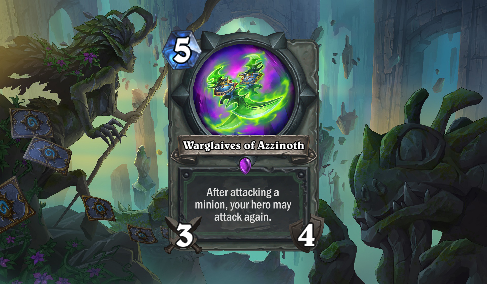 Hearthstone - Warglaives of Azzinoth