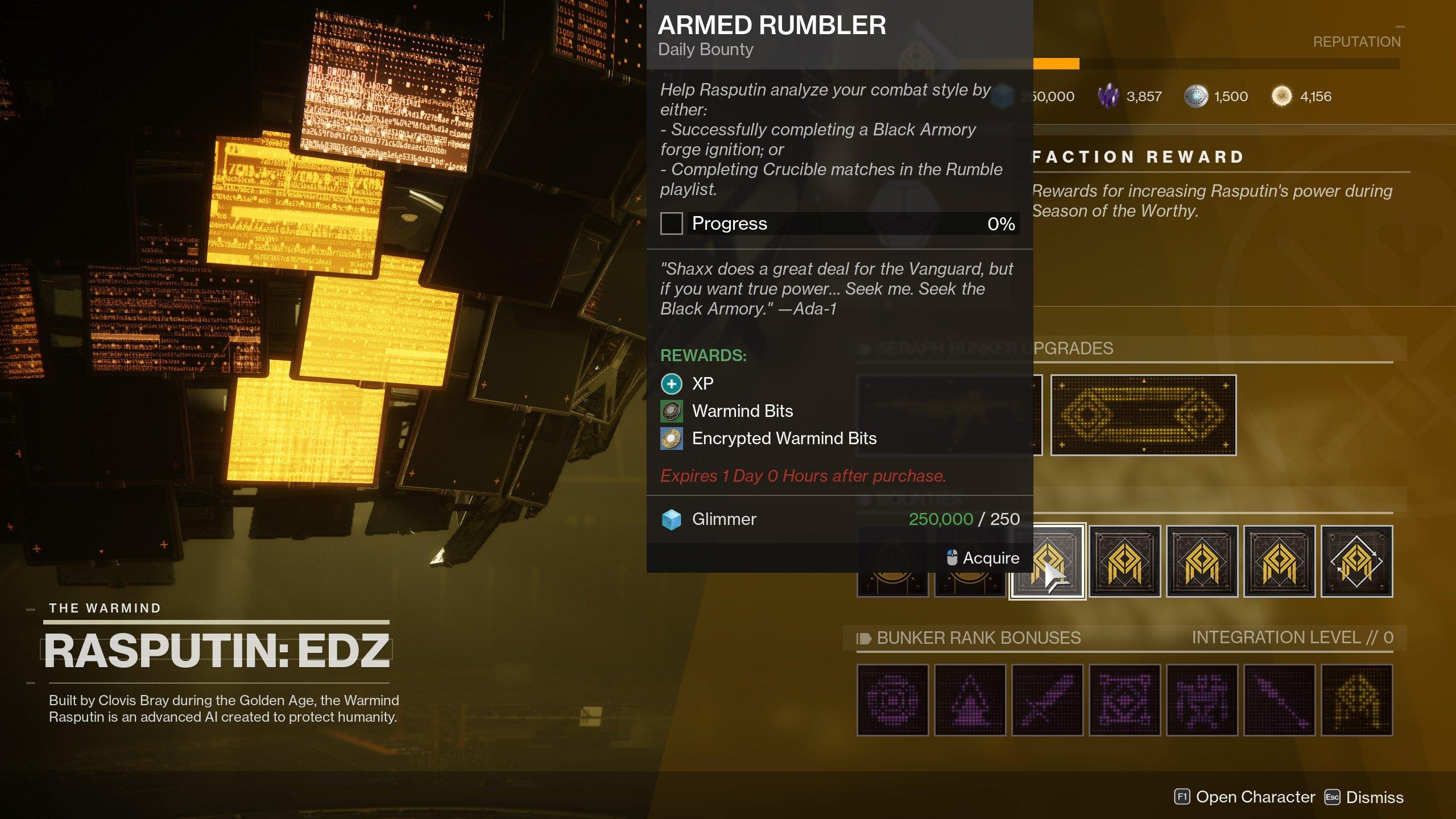 Warmind Bits Destiny 2