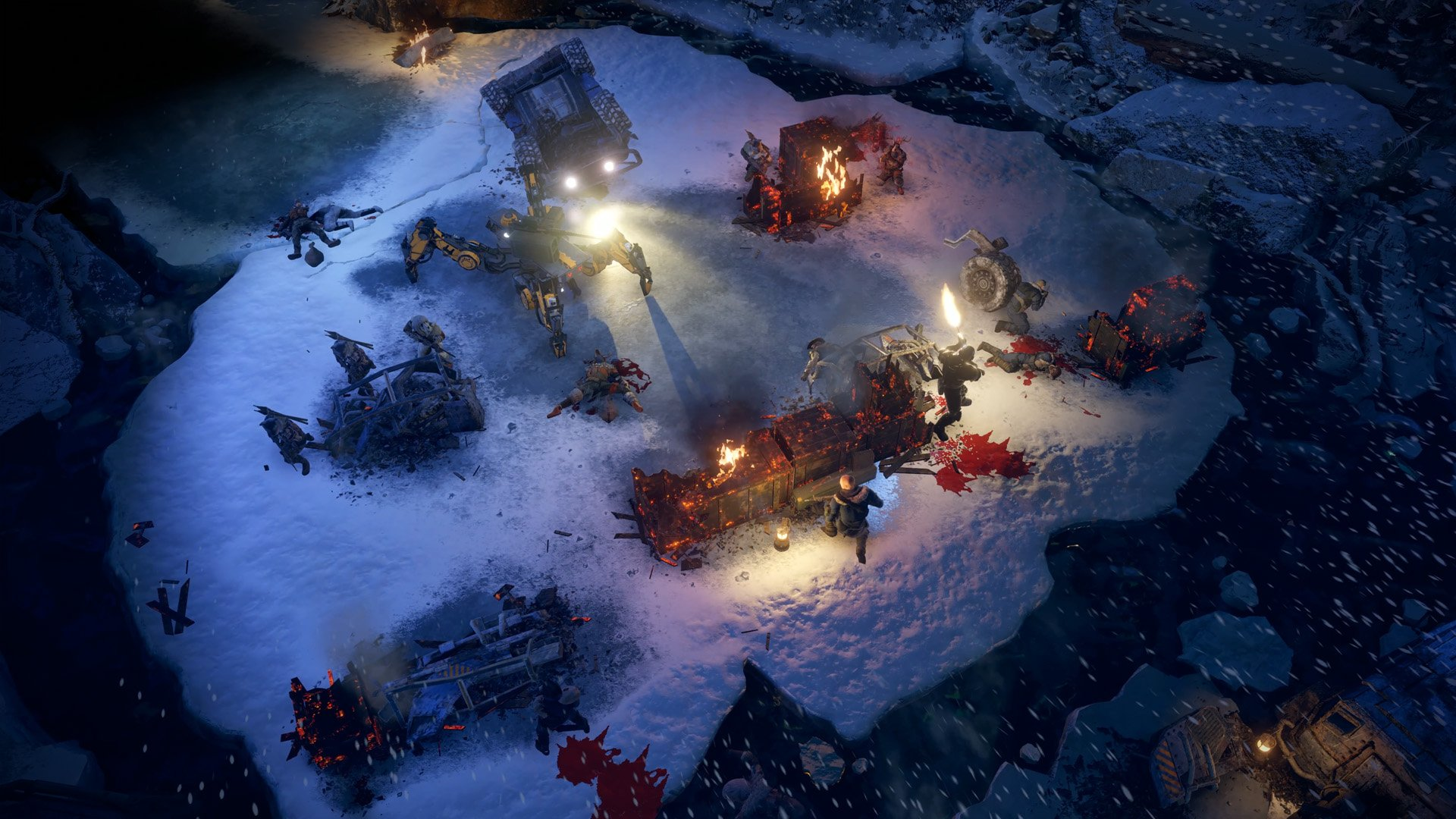 Wasteland 3 preview dam ambush