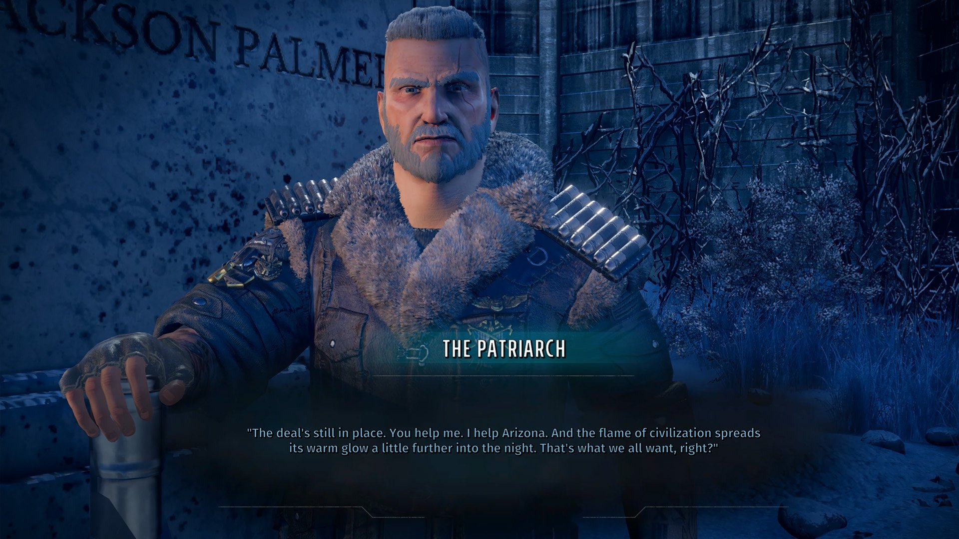 Wasteland 3 preview the patriarch