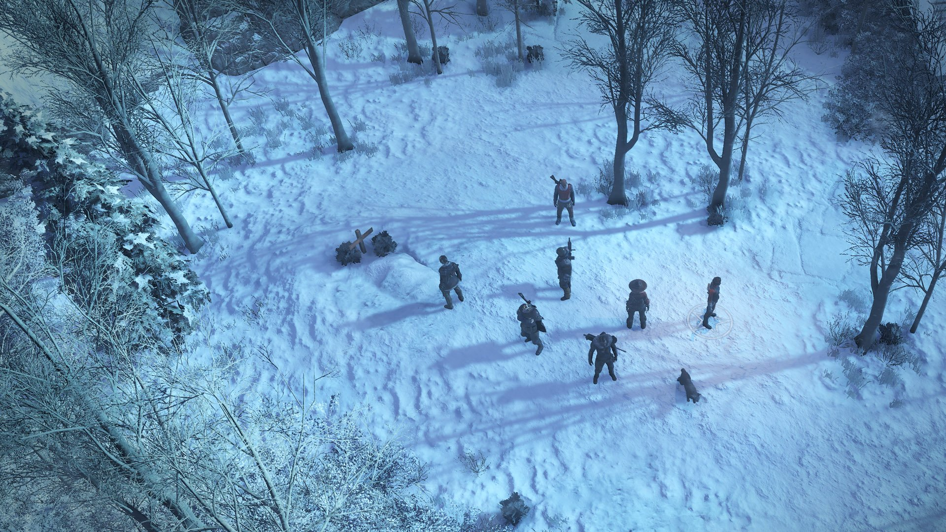 Wasteland 3 preview visuals environment
